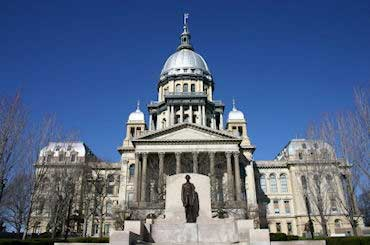 Springfield - State Capital of Illinois - Capitol Building