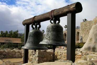 Mission Bells at San Juan Capistrano Mission
