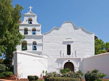 Mission de Alcala in San Diego, California