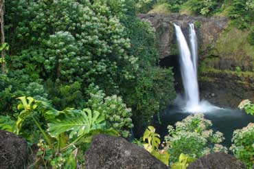 Rainbow Falls on the Big Island