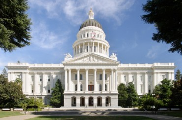 Capitol of California in Sacramento