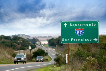 Sacramento Road Sign
