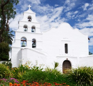 Mission de Alcala, San Diego, California