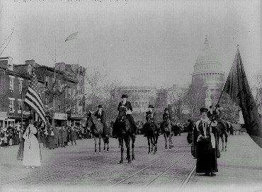 Sufferage Parade Washington, D.C., 1913