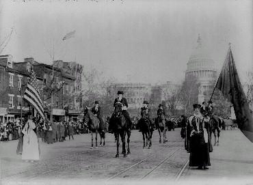 Sufferage Parade Washington, D.C., 1913