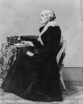 Susan B. Anthony, 1820-1906
