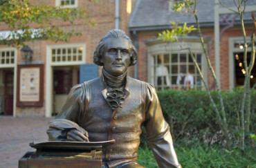 Thomas Jefferson Statue, Williamsburg