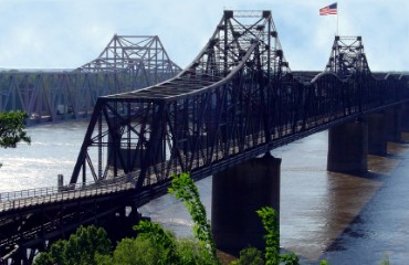 Train Bridge in Vicksburg, Mississippi
