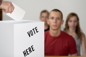 Voting Box, Ballot, and Voters