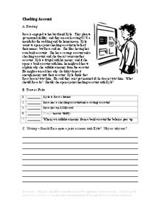 read at home worksheet