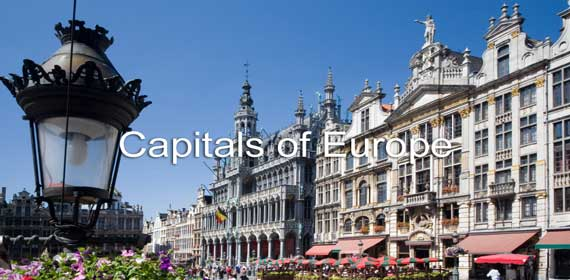 Capitals of Europe Banner