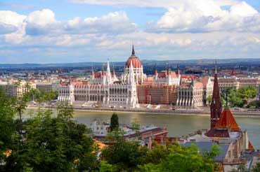 Budapest, Hungary - Parliament Building