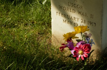 Grave of World War II Soldier